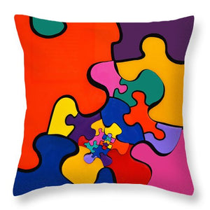 Puzzle Inception - Throw Pillow