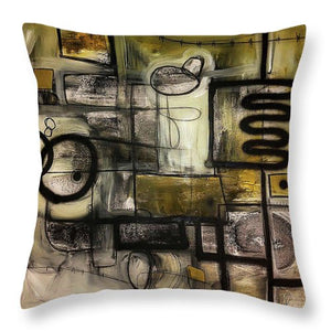 Raw Intentions - Throw Pillow