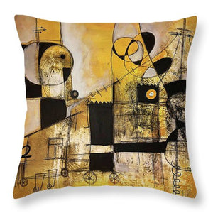 Rooted Source - Throw Pillow