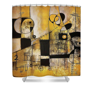 Rooted Source - Shower Curtain