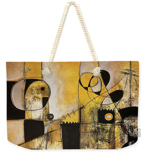 Rooted Source - Weekender Tote Bag