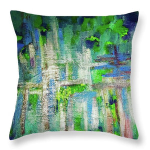 Secret Garden - Throw Pillow