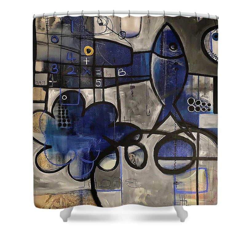 Submerged Thoughts - Shower Curtain