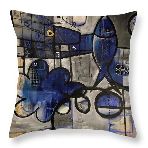 Submerged Thoughts - Throw Pillow