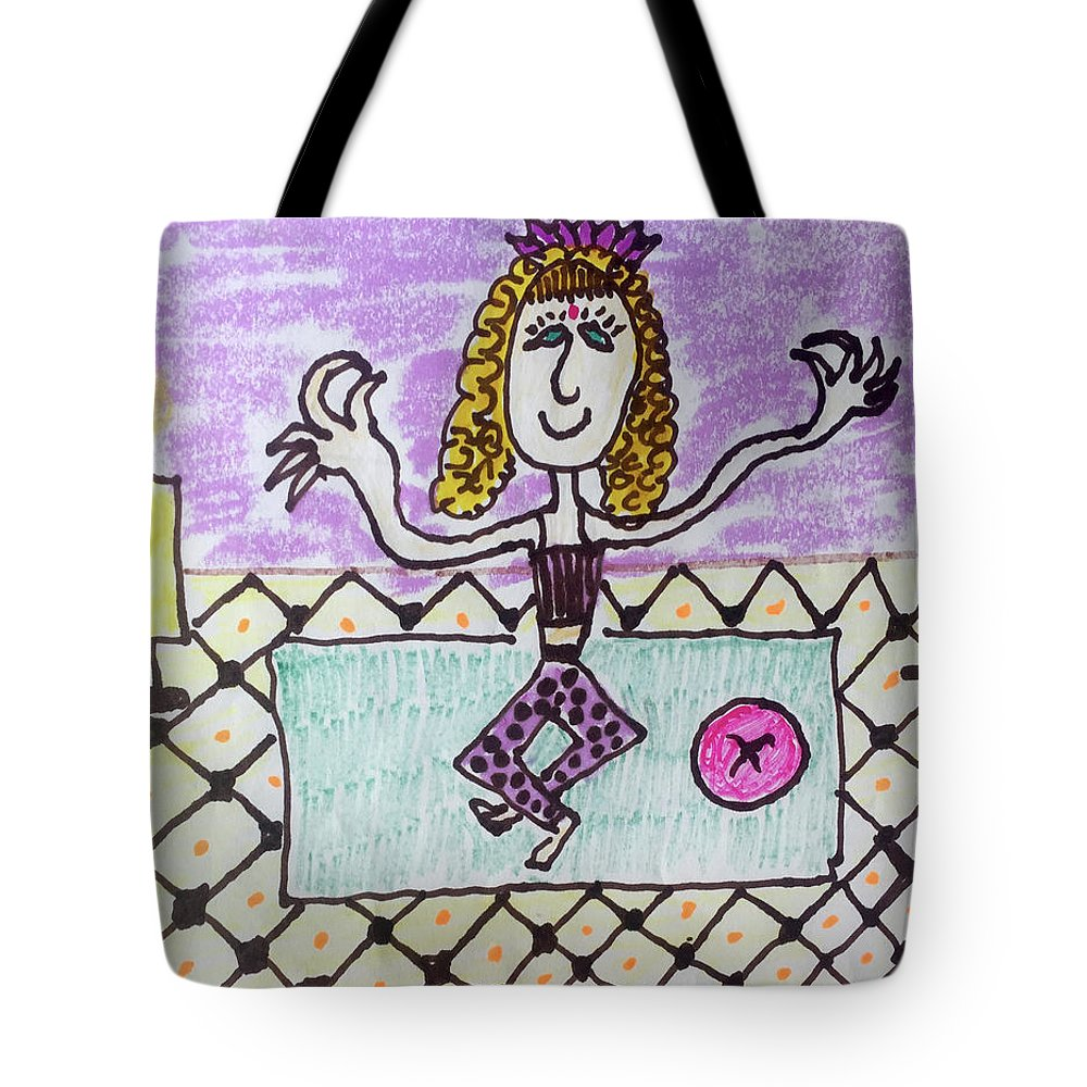 The Yoga Princess - Tote Bag