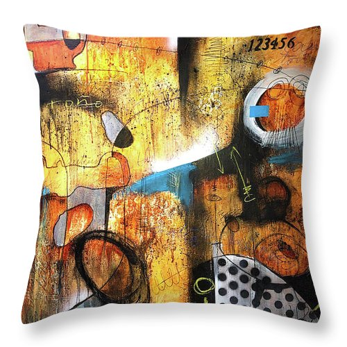 Through The Ozone - Throw Pillow