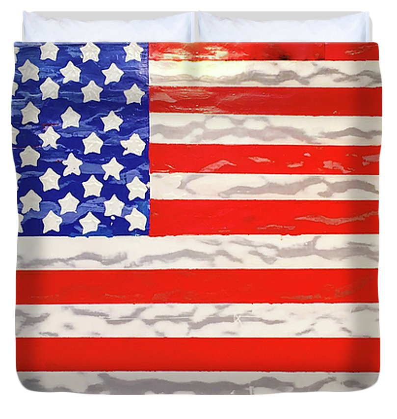 U.s. Flag - Duvet Cover