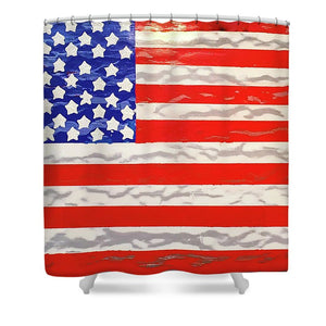 U.s. Flag - Shower Curtain
