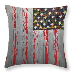 U.s. Flag Vertical - Throw Pillow