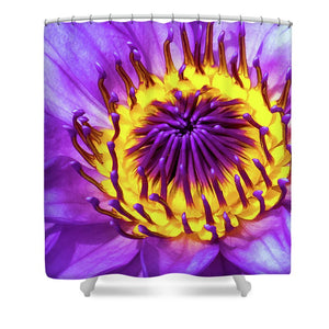 Waterlily - Shower Curtain