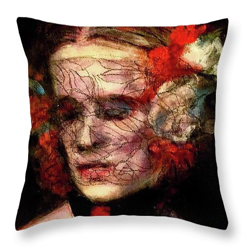Woman - Throw Pillow