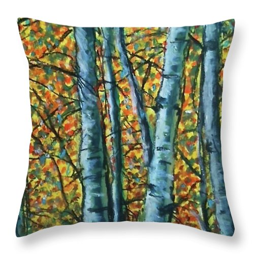 Woods - Throw Pillow