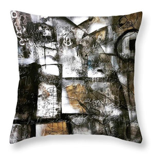 Written In Stone - Throw Pillow