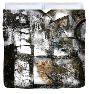 Written In Stone - Duvet Cover