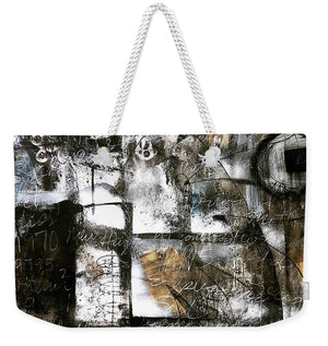 Written In Stone - Weekender Tote Bag
