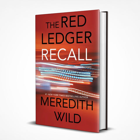 **PRE-ORDER** - Recall (The Red Ledger: 4, 5, & 6) - Hardcover - Autographed