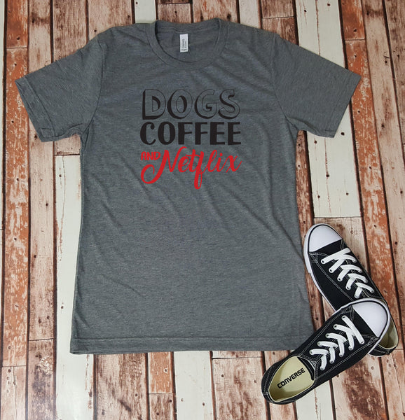 Dogs Coffee & Netflix