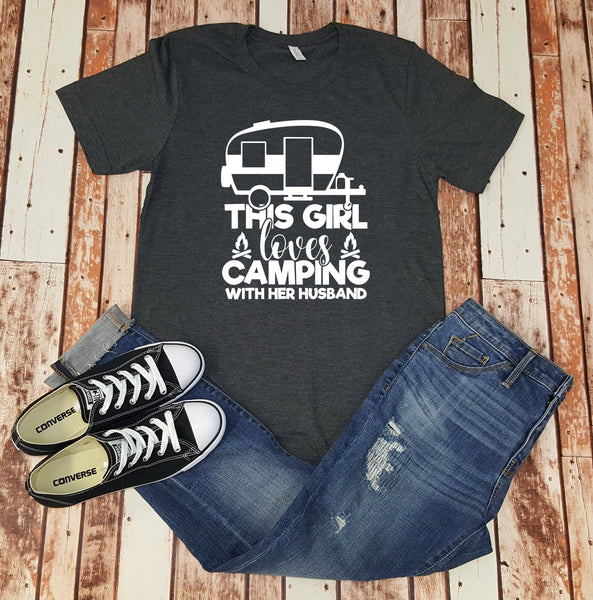 This Girl Loves Camping With Her Husband