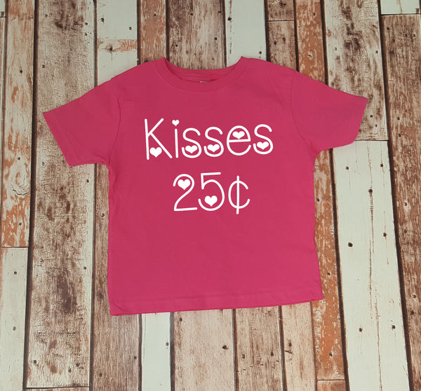 Kisses 25 cents