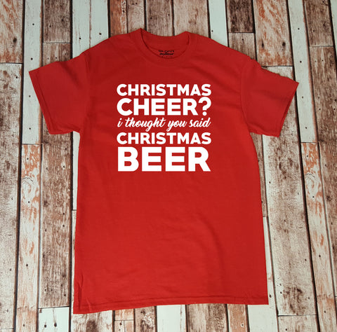 Christmas Cheer?  I Thought You Said Christmas Beer