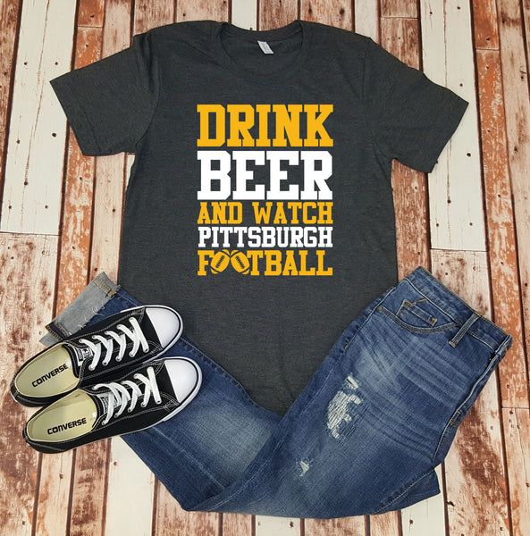 Drink Beer & Watch Pittsburgh Football