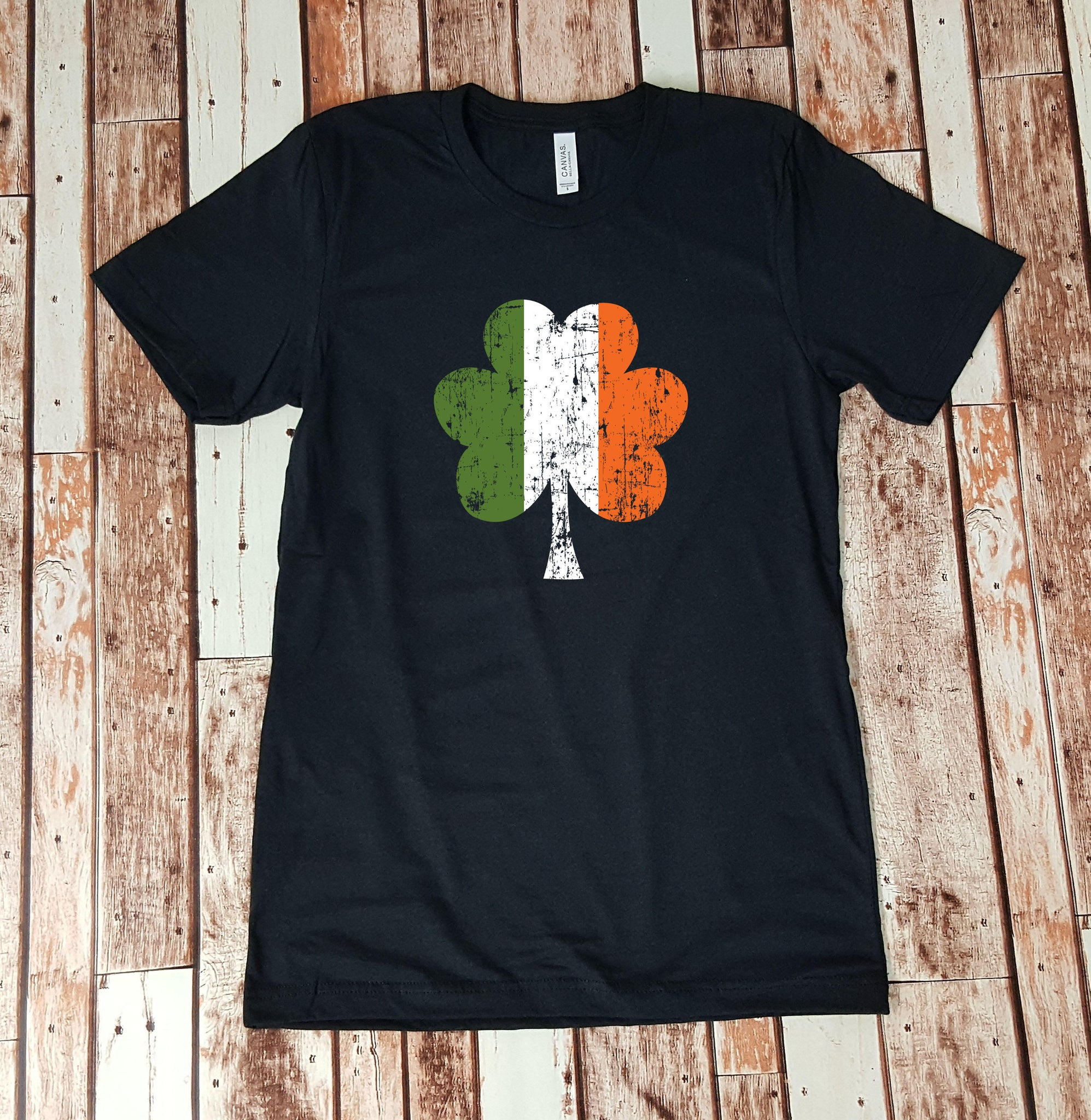 Irish Flag - Distressed Clover