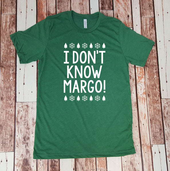 I don't know Margo!