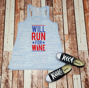 Will Run for Wine - tank