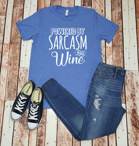 Powered by Sarcasm and Wine