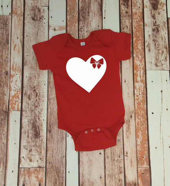 Boys & Girls Sibling SImple Valentine Shirts