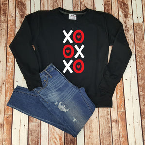 XOXO Ladies Valentine's Day Sweatshirt