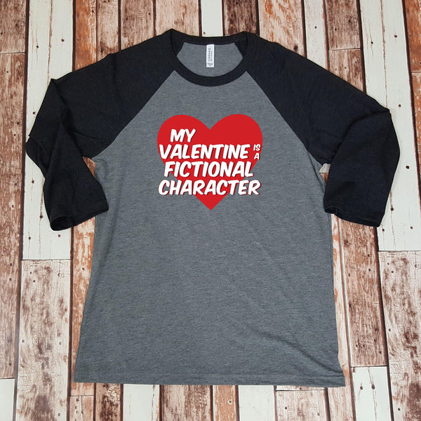My Valentine is a Fictional Character