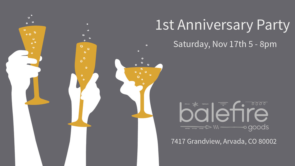 First Anniversary Party!