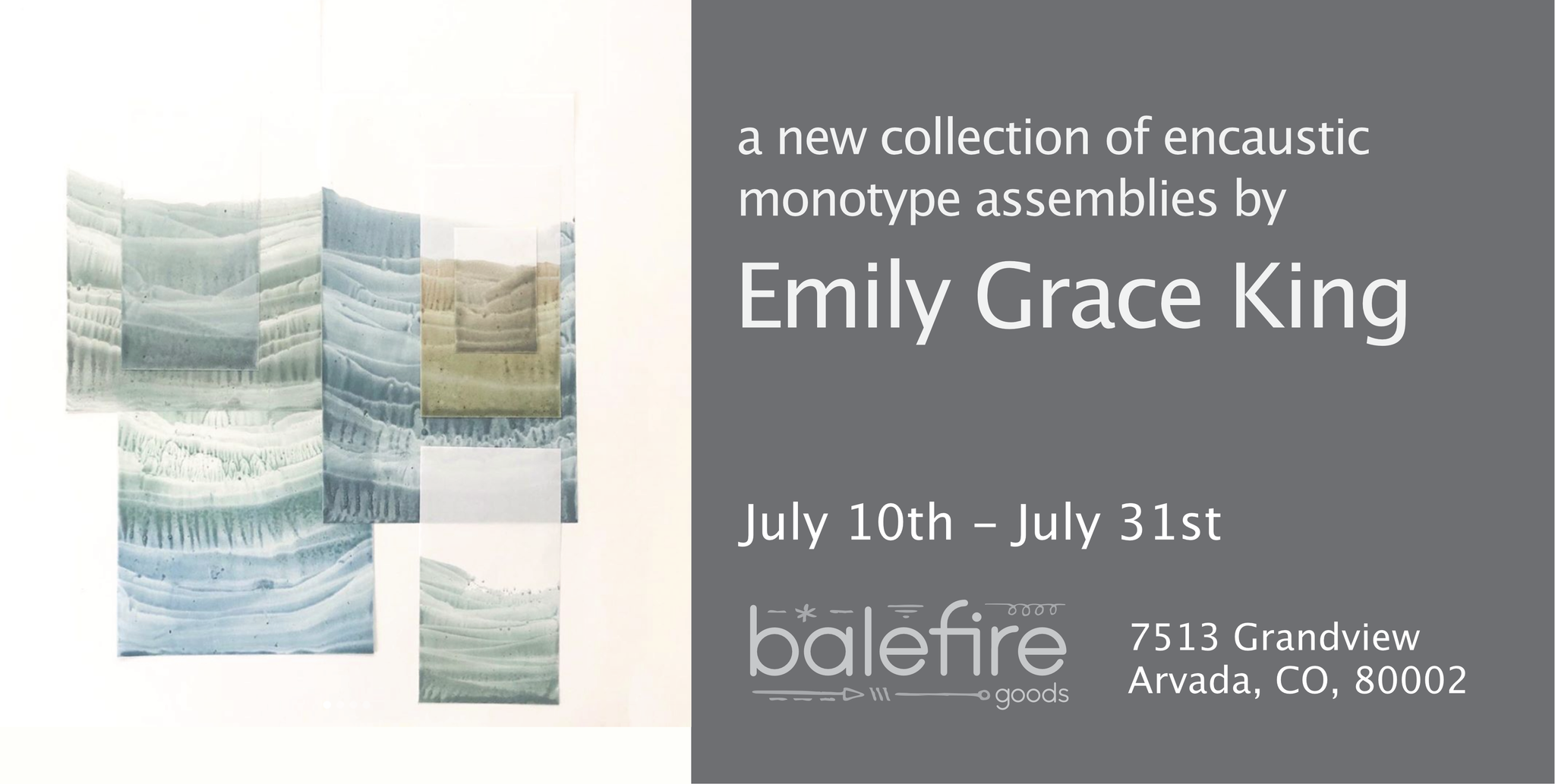 Emily Grace King Art Show