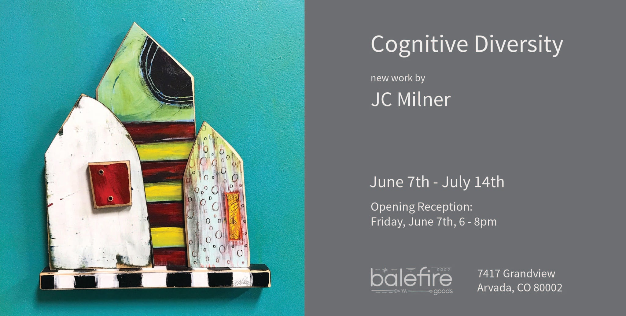Cognitive Diversity: New Work by JC Milner
