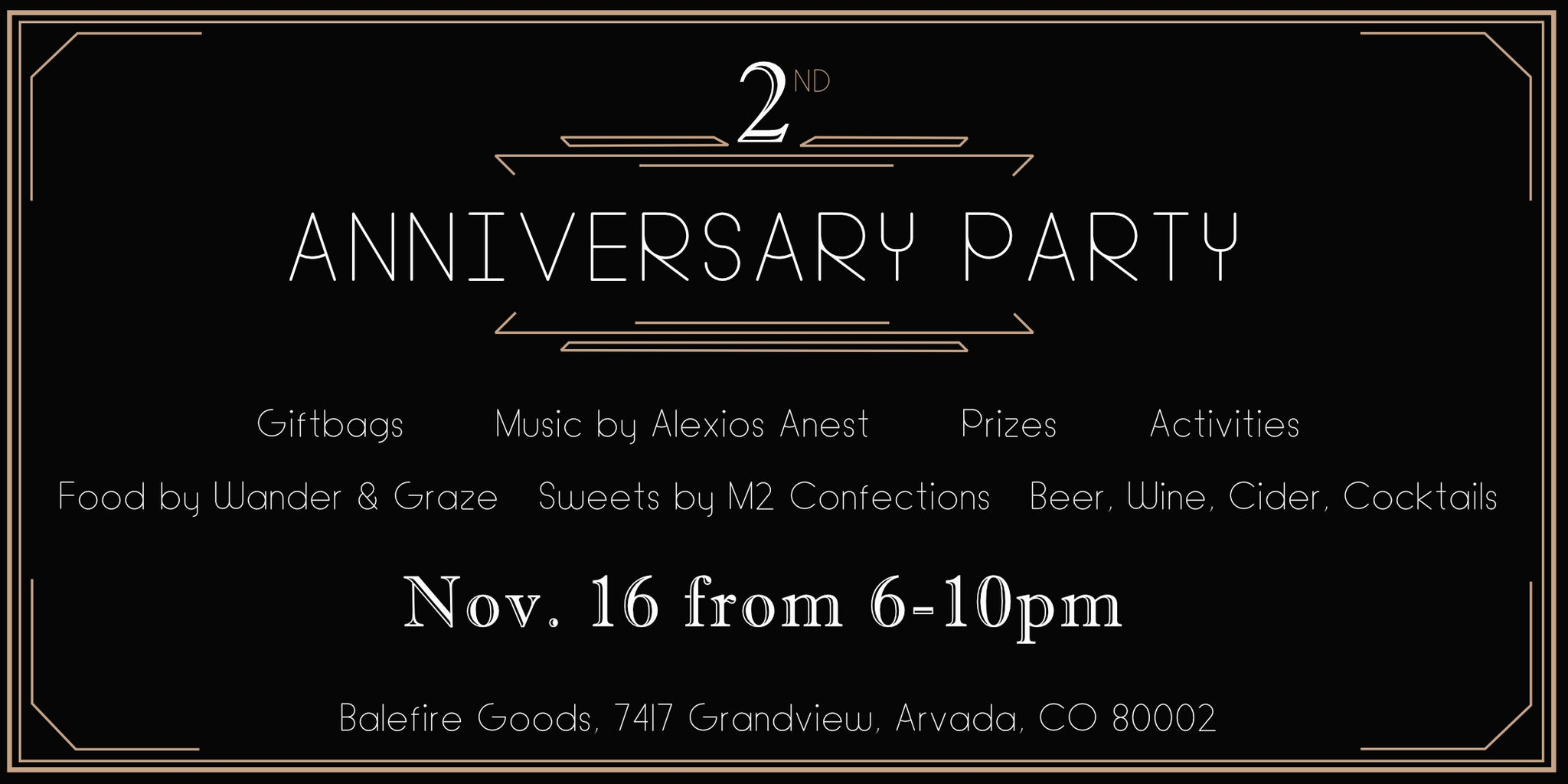 2nd Anniversary Party!