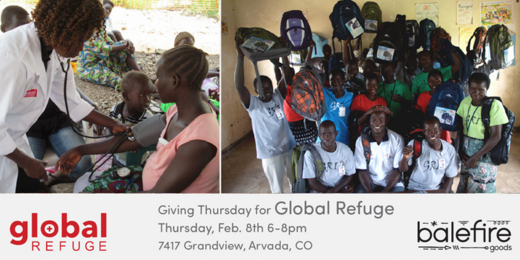 February Giving Thursday: Global Refuge