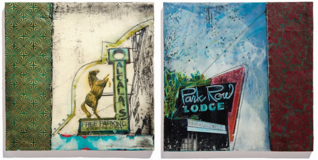 May Art: Local High School Students and Kirsten Denbow's Encaustics