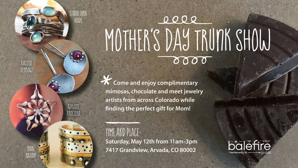 Mother's Day Weekend Trunk Show
