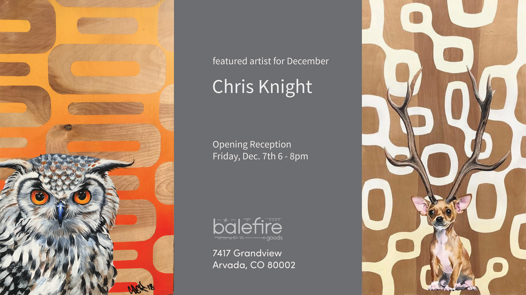 First Friday with Chris Knight