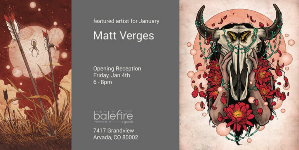 First Friday: Matt Verges
