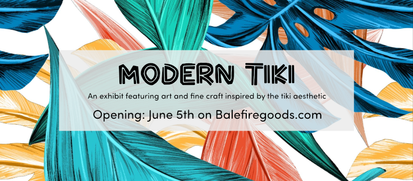 Modern Tiki: online events and art exhibit inspired by tiki culture