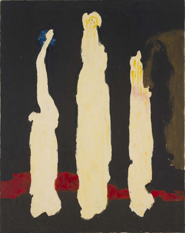 Clyfford Still, PH-287, 1945. Oil on canvas, 37 x 29 1/2 inches (94 x 74.9 cm). Clyfford Still Museum, Denver, CO.