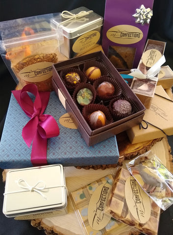 Chocolate offerings from M2 Confections