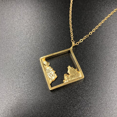Seth Papac Gold Necklace