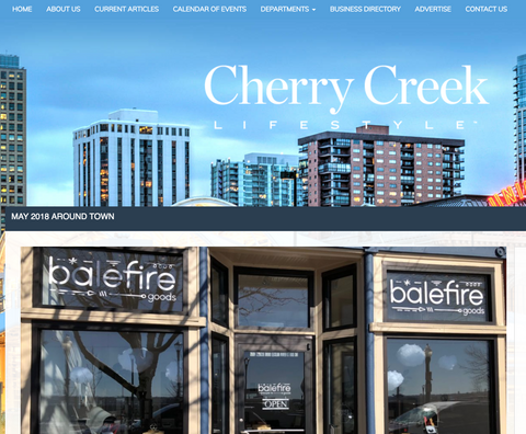 Cherry Creek Lifestyle Magazine: Store Feature