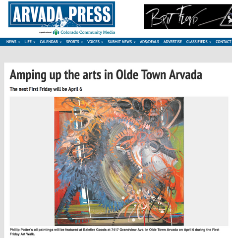 Arvada Press: Amping Up the Arts in Olde Town Arvada