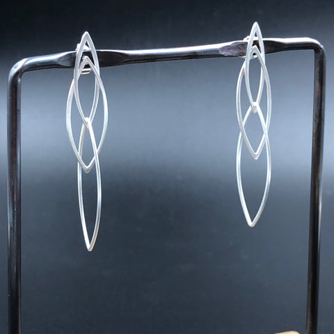 Interlocking Ellipses Earrings
