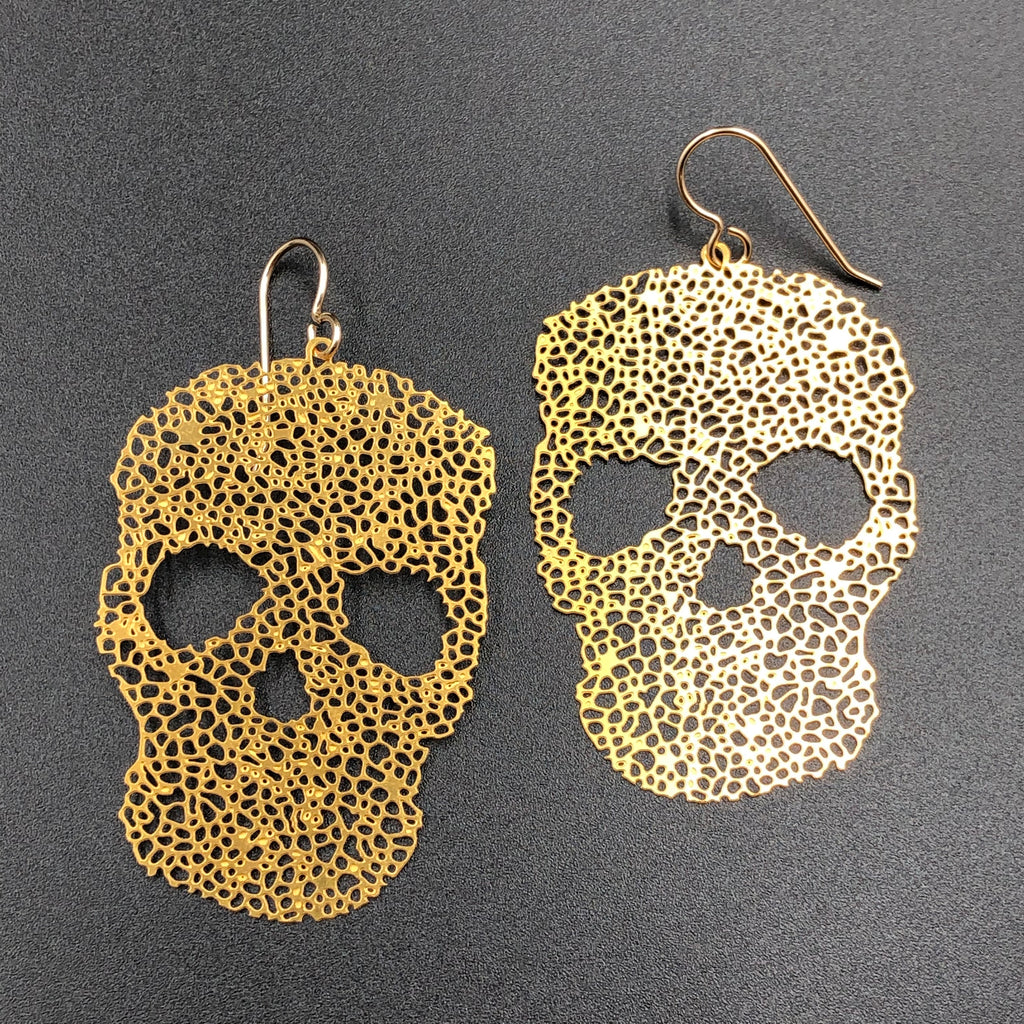 Skull Earwire Earrings