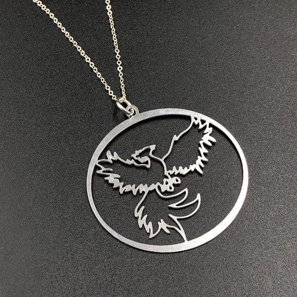Magical Menagerie Phoenix Necklace